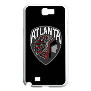 Atlanta Falcons Team Logo Samsung Galaxy N2 7100 Cell Phone Case White DIY gift zhm004_8679642