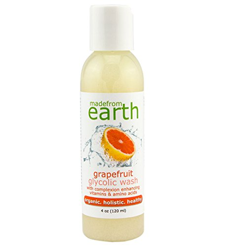 Grapefruit Glycolic Lotion Cleansing (Grapefruit Glycolic Wash w/Organic Jojoba Wax Beads)
