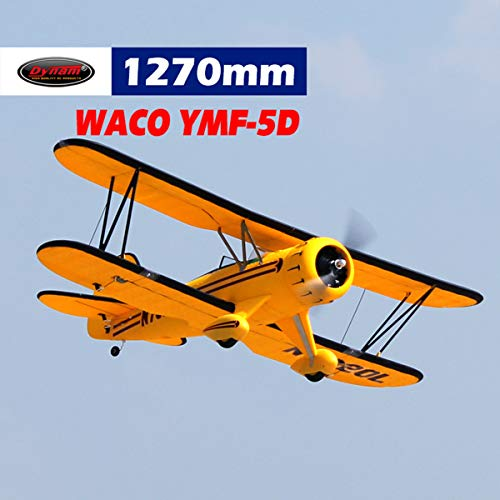 Dynam RC Airplane Waco Yellow 1220mm Wingspan - PNP, used for sale  Delivered anywhere in Canada