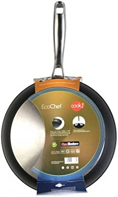WeCook Ecochef 10430 Sarten Antiadherente Induccion Vitrocerámica y Fogón, 30 cm, Sin PFOA ni BPA