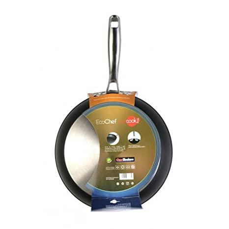 WeCook Ecochef 10430 Sarten Antiadherente Induccion Vitrocerámica y Fogón, 30 cm, Sin PFOA ni BPA: Amazon.es: Bricolaje y herramientas