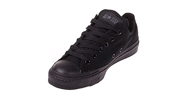 Amazon.com | Converse Unisex Chuck Taylor All Star Ox Basketball Shoe (5.5 B(M) US Women / 3.5 D(M) US Me, Black Monochrome) | Fashion Sneakers