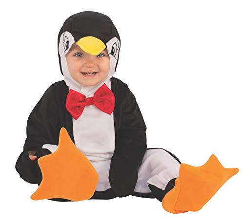 Rubie's Li'l Cuties Penguin Baby/Toddler Costume, As Shown, Toddler