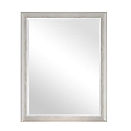 Amazon Com Vintage Mirror Solid Wood Shabby Chic Wall Mirror