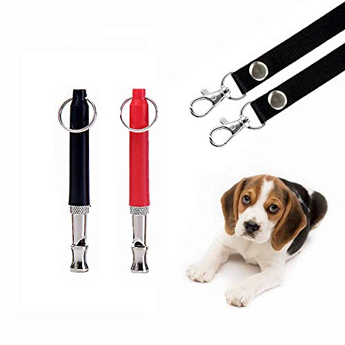 THINKPRICE 2 Pack Dog Whistle to Stop Barking