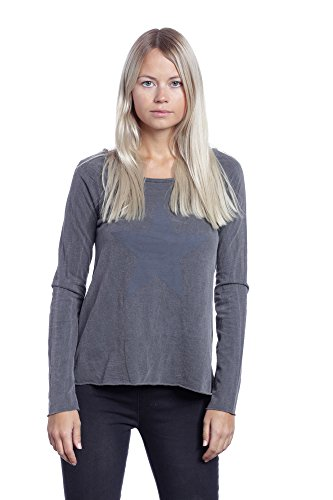 Abbino 1372 Camisas Blusas Tops para Müjer - Hecho EN Italia - 2 Colores - Verano Otoño Primavera Mujeres Femeninas Elegantes Formales Manga Larga Casual ...
