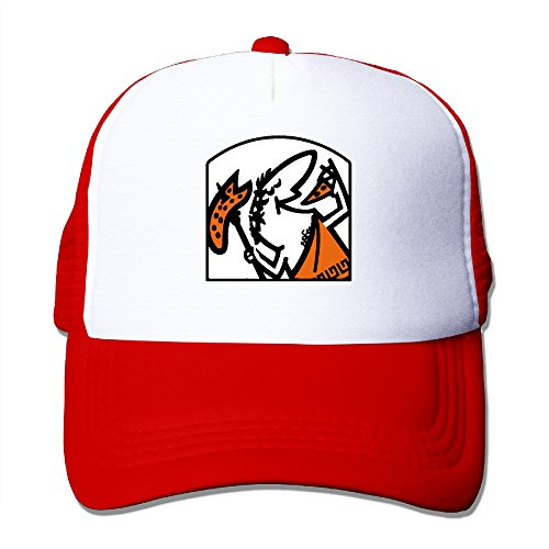 men-and-womens-cool-cute-little-caesar-adjustable-mesh-back-hat-trucker-cap-red