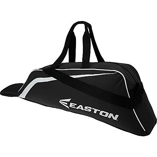 Tote Bat Bag. Youth Baseball, Softball & Tee Ball Little League Equipment, Gear, Supplies, Stuff & Accessories Cary Case For Kids, Children, Boys & Girls Holds 2 Bats, Batting Helmet, Glove (Black)