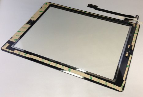 Black Touch Screen Glass Digitizer for Ipad 4th Gen