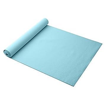 Gaiam Solid Yoga Mat, Robins Egg, 3mm by Gaiam: Amazon.es ...