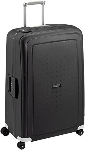 Samsonite S'Cure - Spinner 81 - 5 Kg Suitcase, 81 cm, 138 L, Black