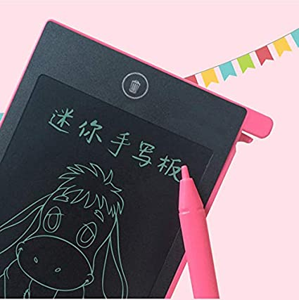 CICIN LCD Writing Tablet Colorful 4.4 Inch Digital Electronic Graphics Tablet Ewriter Mini Board Handwriting Pad Suitable for Kids