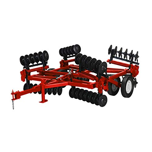 Spec Cast 1/16 High Detail ( IH Red ) Folding Wing Disc Harrow Cust-1860
