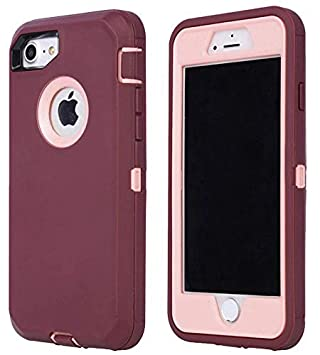 Amazon.com: Annymall - Carcasa para iPhone 8 y iPhone 7 ...