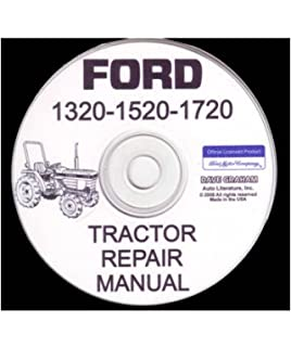 ford tractor 1320, 1520, 1720 factory repair shop & service manual on ford  tractor 1715 ford tractor wiring diagram
