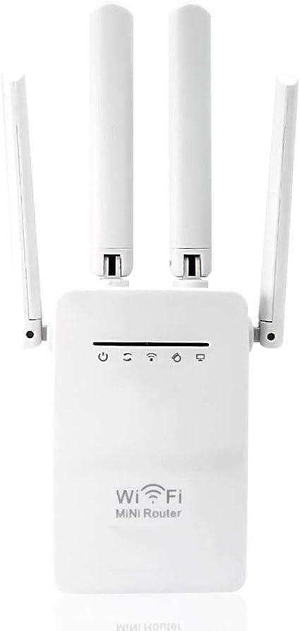 Mele & Co WiFi Range Extender señal Booster, 4 Antenas ...