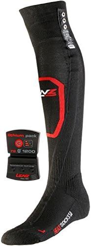 Lenz Heated Socks 5.0 Toe Cap + Lithium Pack rcB 1200