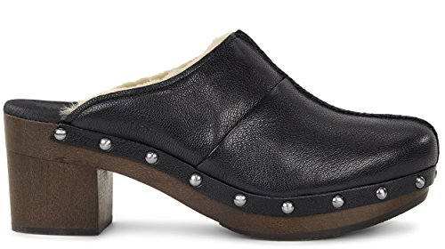 UGG Australia Womens kassi Leather Closed Toe Clogs Black sQWZMM6IZ