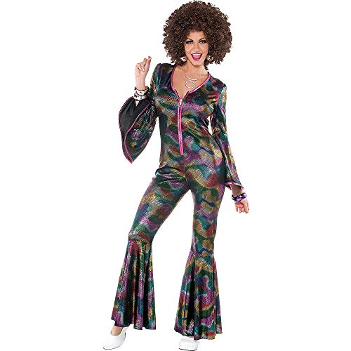 AMSCAN Disco Pant Suit Halloween Costume for Women, ()
