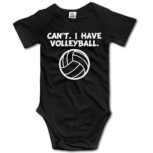 - CHYY Newborn's Can't I Have Volleyball Funny Sports Organic Baby Onesie Sleepwear