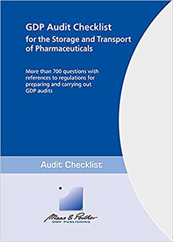 Good Distribution Practice - GDP Audit Checklist for the Storage ...