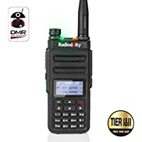 Radioddity GD-77 Dual Band Dual Time Slot DMR Digital / Analog Two Way Radio 136-174 /400-470MHz 1024 Channels Ham Amateur Radio Compatible with MOTOTRBO, Free Programming Cable