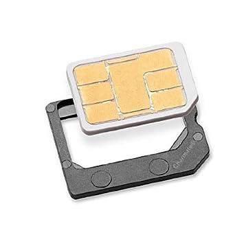 Nano SIM Adaptador convierte a Micro SIM: Amazon.es: Electrónica