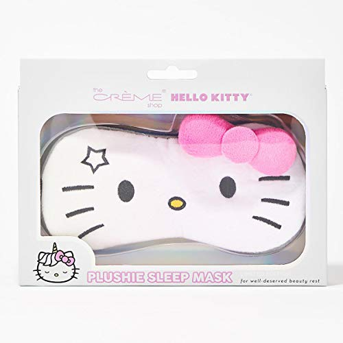 (The Creme Shop x Hello Kitty Plushie Sleep Mask (Unicorn Hello Kitty))