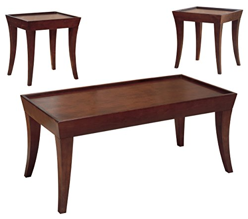 Homelegance Zen Three Piece Occasional Tray Top Coffee Table With