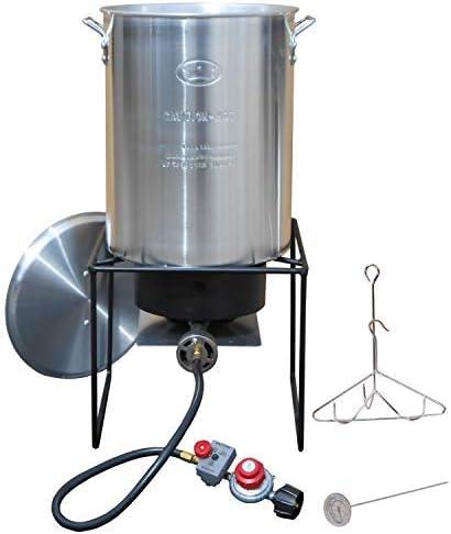 King Kooker #12RTF Turkey Fryer Propane Outdoor Cooker Package