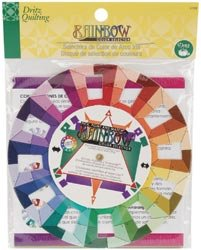 Bulk Buy: Dritz Quilting Rainbow Color Wheel Selector 3169 (3-Pack) by Artsiga Crafts Dritz