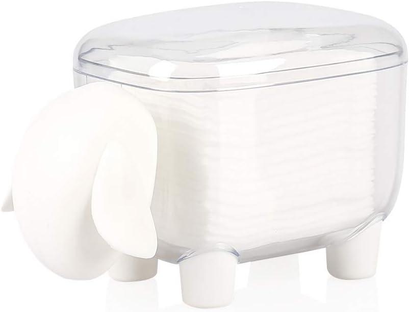 Bocotoer - Dispensador de Bolas de algodón con Forma de Oveja con ...