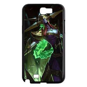 Samsung Galaxy N2 7100 Cell Phone Case Black League of Legends Blade Queen Lissandra Ybch