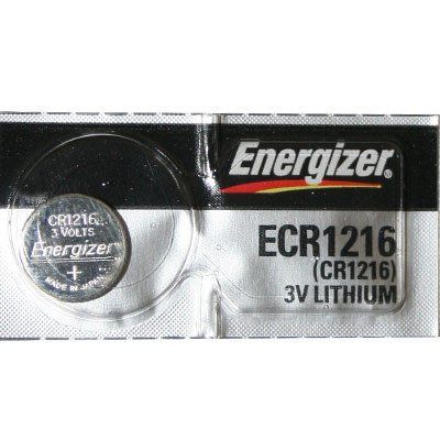 Energizer CR1216 Lithium 3V Coin Cell (Energizer Advanced Photo Lithium Battery)