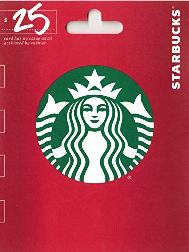 Starbucks Holiday $25 Gift Card by Starbucks