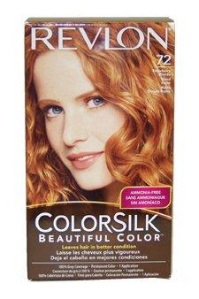 Amazon Com Colorsilk Haircolor 72 Strawberry Blonde 7r By Revlon