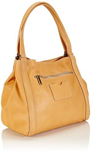 BREE Stockholm 6, nature, double shoulder bag - Bolso de hombro para mujer Beige (nature 750)