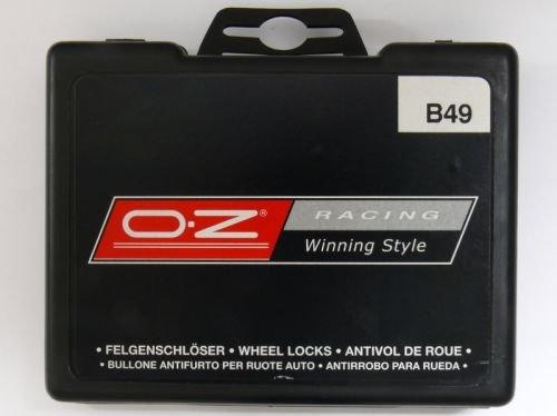 OZ B14 OZ Radsicherungsbolzen 12x1,5x28 Kegelbolzen Schl/üsselweite 17
