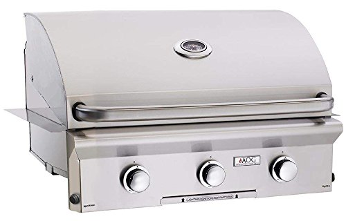 American Outdoor Grill 30PBL-00SP L-Series 30 Inch Built-In Propane Gas Grill by AOG