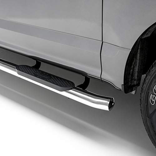 (ARIES S221008-2 4-Inch Oval Polished Stainless Steel Nerf Bars 4 Inches Select Jeep Grand Cherokee)