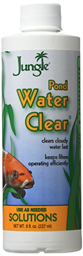 Jungle PL040-8W Pond Water Clear, 8-Ounce, 236-ml (8 Oz Pond Water)