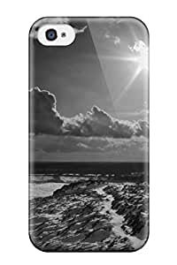 Hot Tpye Black And White Case Cover For Iphone 4/4s