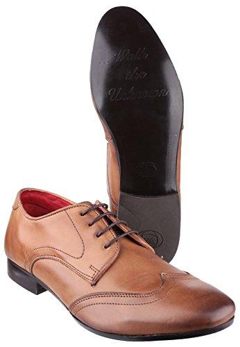 Base London Orwell Lace Mens Shoe Tan i4T0Zn94C