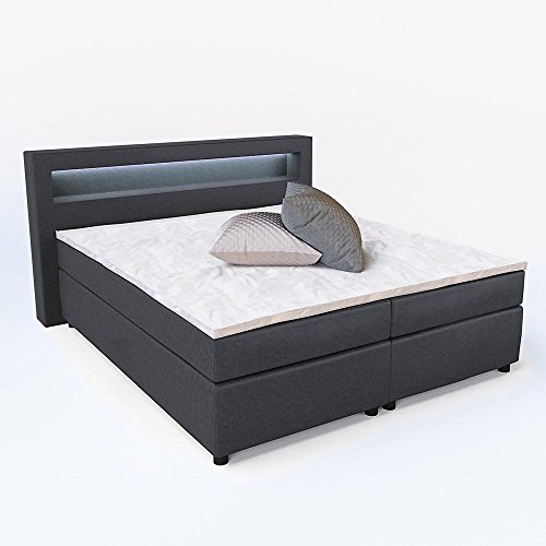 4260486832304 ean design boxspringbett led doppelbett. Black Bedroom Furniture Sets. Home Design Ideas