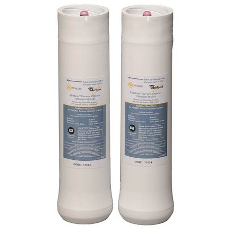 (Whirlpool WHEERF 2 Pack Ultraease WHER25 RO Water Filter Set WHEERF5)
