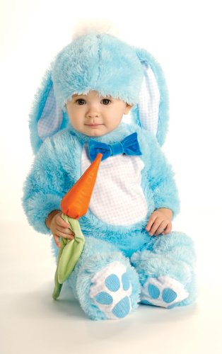 6-12 Months Blue Baby Boys Rabbit Costume