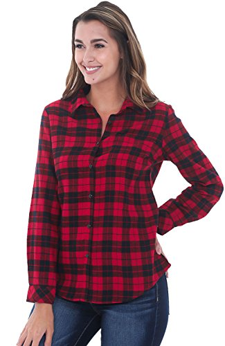 Red Black Flannel - 3