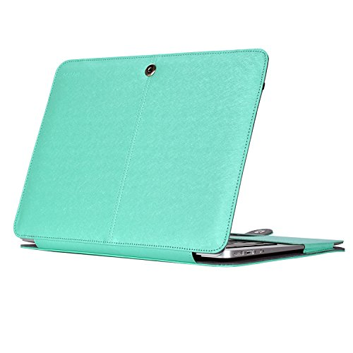 Mosiso Leather Folio MacBook Models