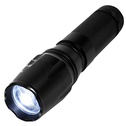 LIVABIT Tactical T1K Super Bright Rechargeable LED Flashlight Kit 1000LM Flashlight Torch by LIVABIT (Image #8)