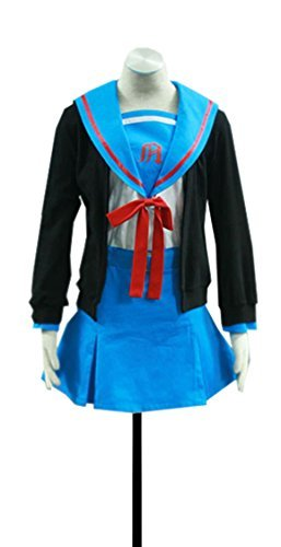 Dreamcosplay Anime Haruhi Suzumiya Nagato Yuki School Uniform Cosplay
